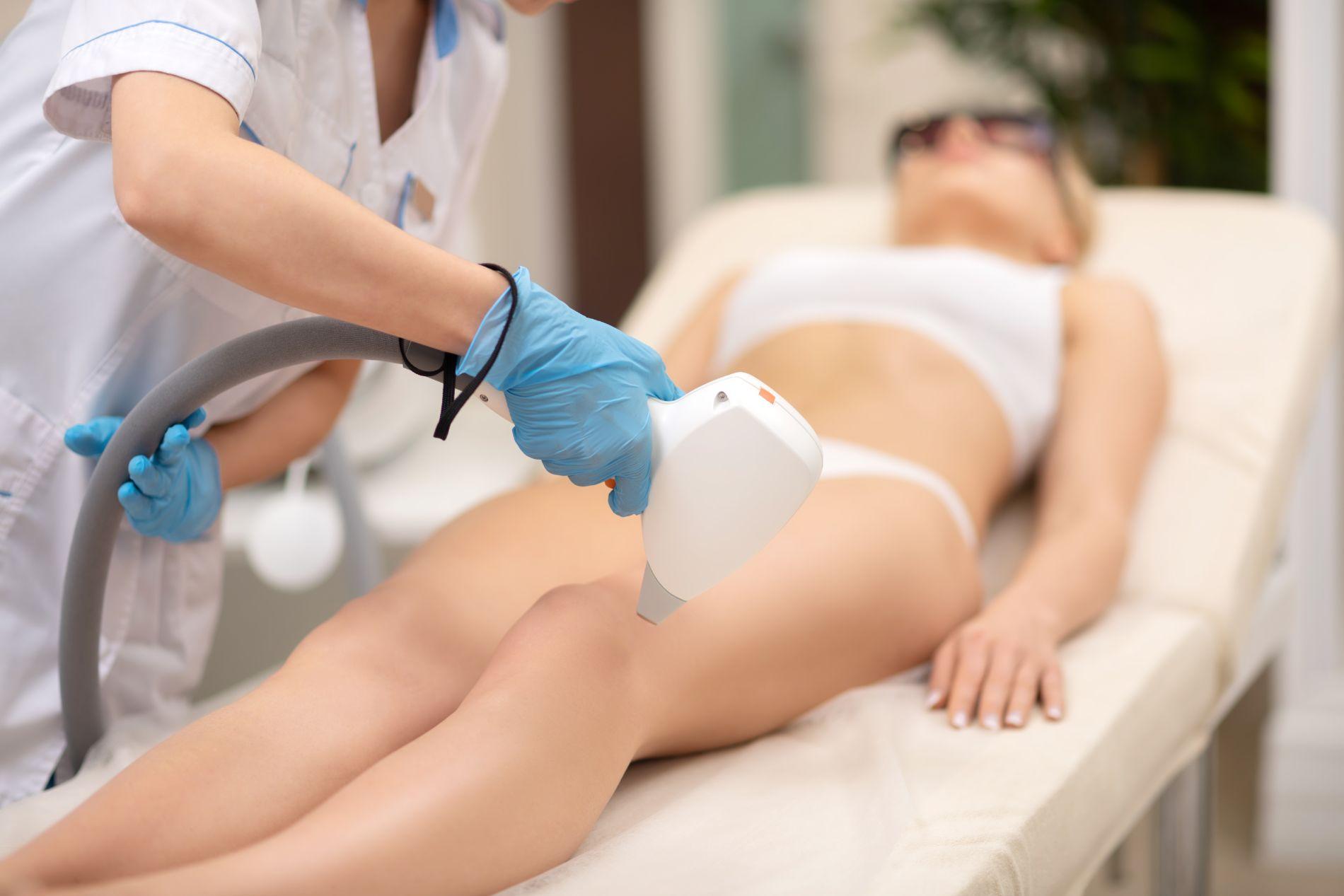 Permanente laserontharing